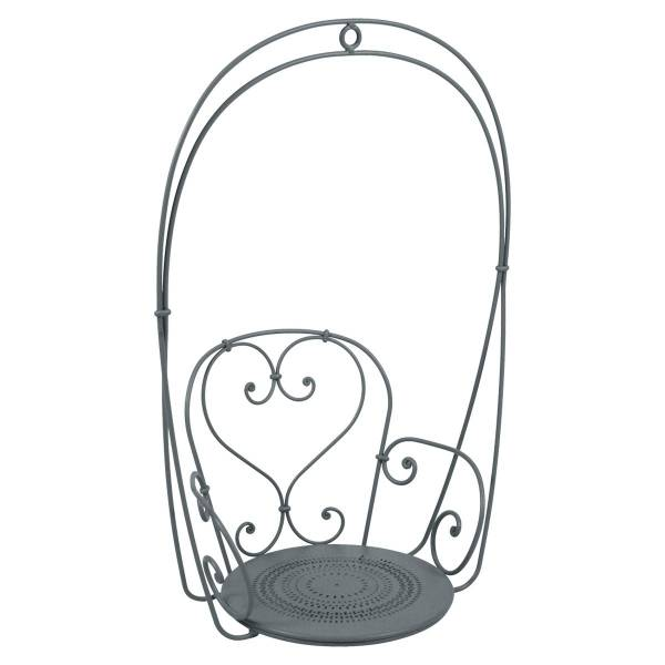 Fermob 1900 Hanging Garden Chair in Storm Grey