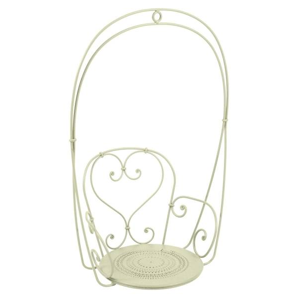Fermob 1900 Hanging Garden Chair in Willow Green