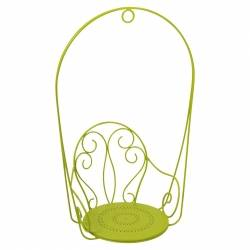 Montmartre Hanging Armchair in colour Verbena from Montmartre French Garden Furniture