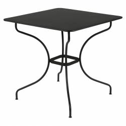 Opera Square Outdoor Table 77 x 77cm in colour Liquorice from Opera Collection
