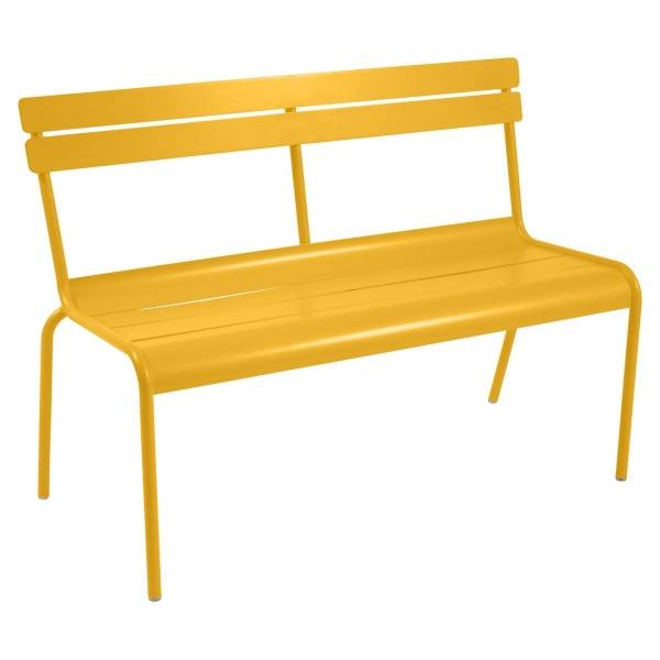 Fermob Luxembourg Bench with Back in Honey