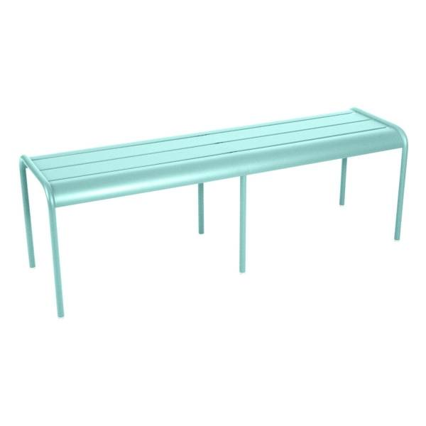 Fermob Luxembourg Bench in Lagoon Blue
