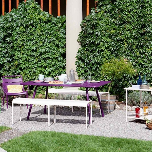 Luxembourg Table 165 x 100cm from the Luxembourg Modern Outdoor Furniture collection