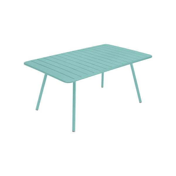 Fermob Luxembourg Table 165 x 100cm in Lagoon Blue