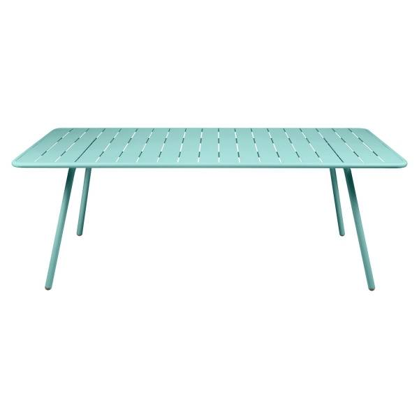 Fermob Luxembourg Table 207 x 100cm in Lagoon Blue