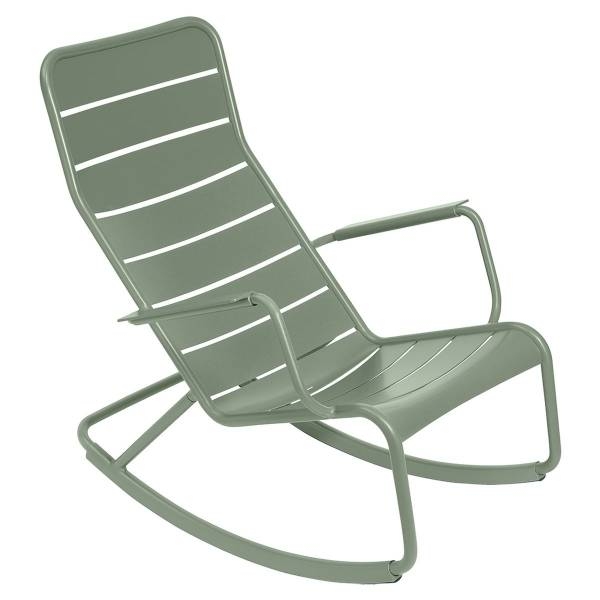 Fermob Luxembourg Rocking Chair in Cactus