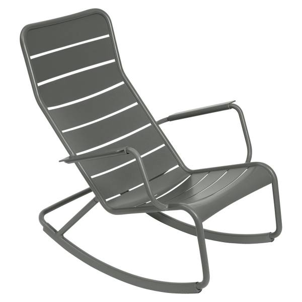 Fermob Luxembourg Rocking Chair in Rosemary