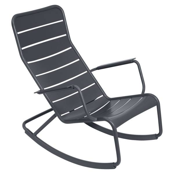 Fermob Luxembourg Rocking Chair in Anthracite