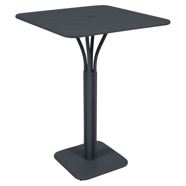 Fermob Luxembourg High Table in Anthracite