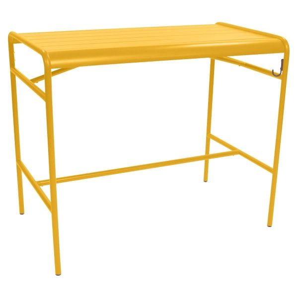Fermob Luxembourg High Table 126 x 73cm in Honey