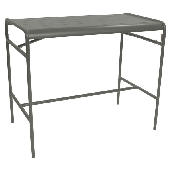 Fermob Luxembourg High Table 126 x 73cm in Rosemary