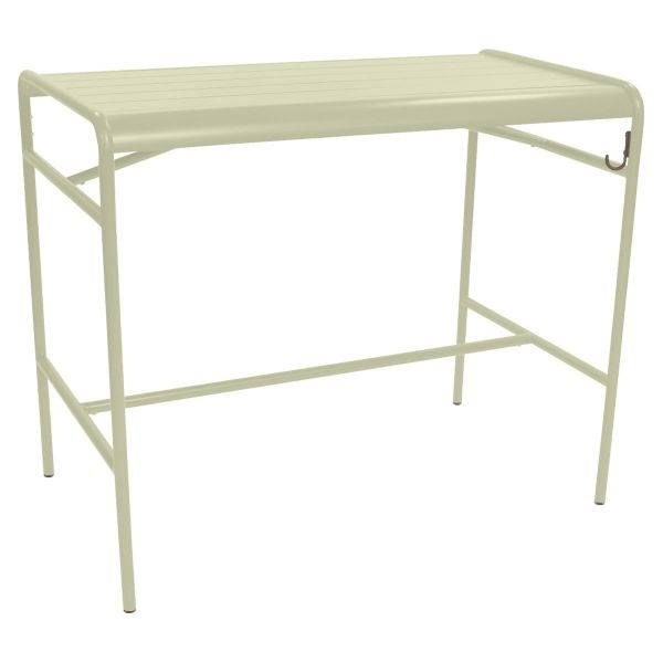 Fermob Luxembourg High Table 126 x 73cm in Willow Green