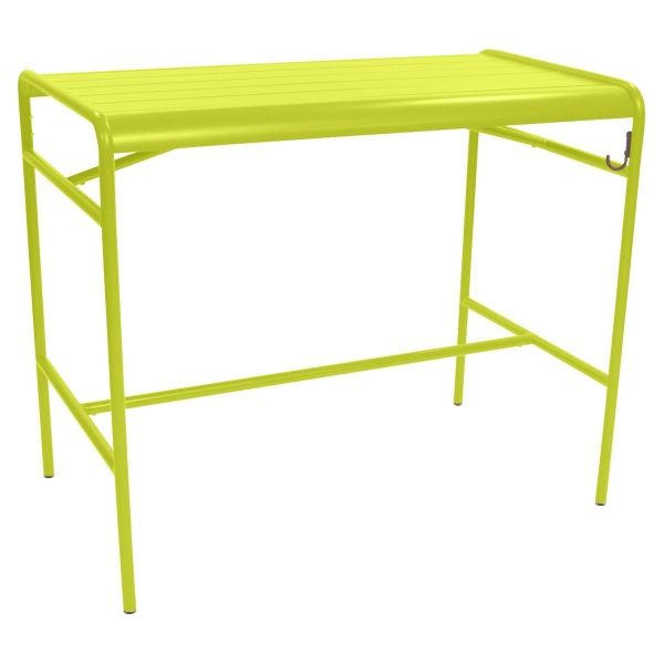 Fermob Luxembourg High Table 126 x 73cm in Verbena
