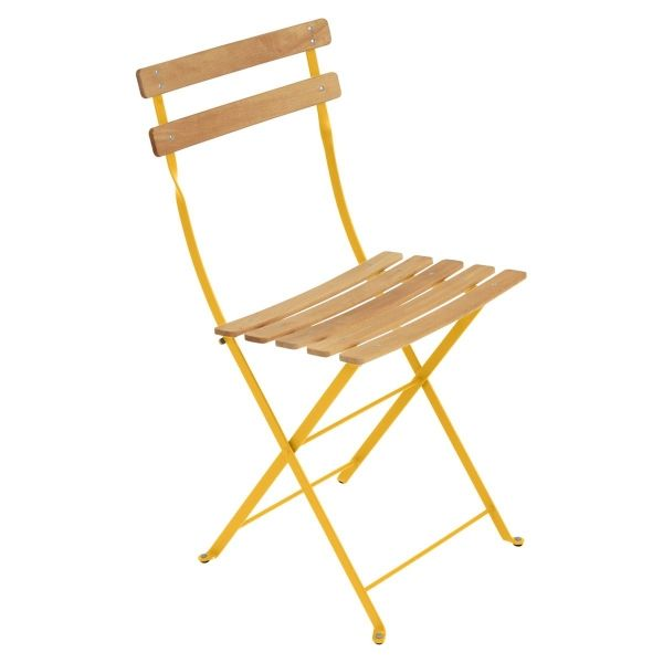 Fermob Bistro Folding Chair - Natural Slats in Honey