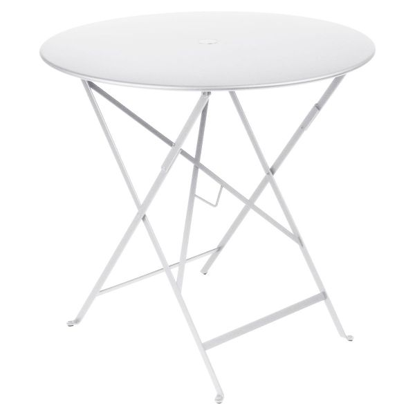 Fermob Bistro Table Round 77cm in Cotton White