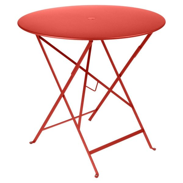 Fermob Bistro Table Round 77cm in Capucine