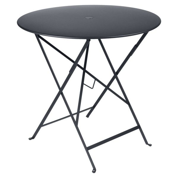 Fermob Bistro Table Round 77cm in Anthracite
