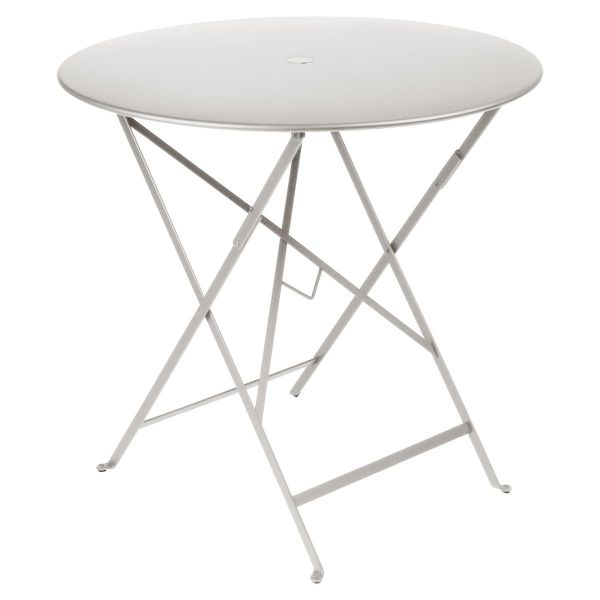 Fermob Bistro Table Round 77cm in Steel Grey