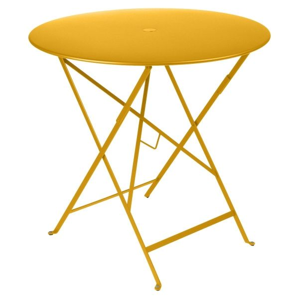 Fermob Bistro Table Round 77cm in Honey