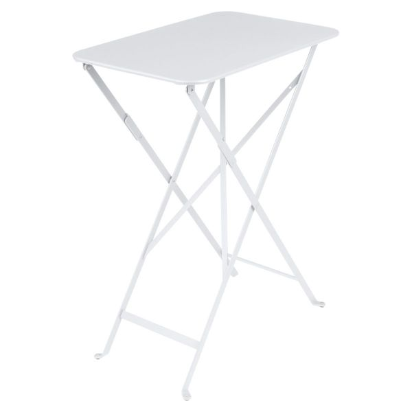 Fermob Bistro Table Rectangle 57 x 37cm in Cotton White