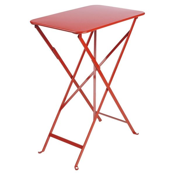 Fermob Bistro Table Rectangle 57 x 37cm in Poppy