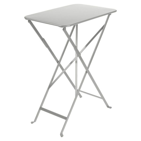 Fermob Bistro Table Rectangle 57 x 37cm in Steel Grey