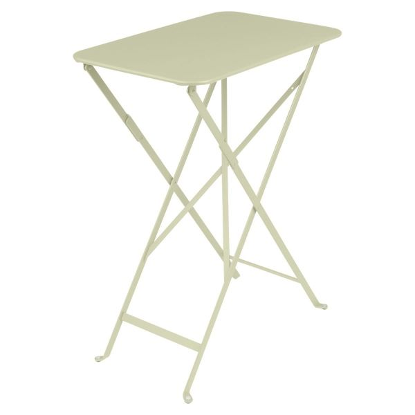 Fermob Bistro Table Rectangle 57 x 37cm in Willow Green