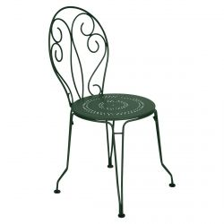 Montmartre Outdoor Chair in colour Cedar Green from Montmartre French Garden Furniture