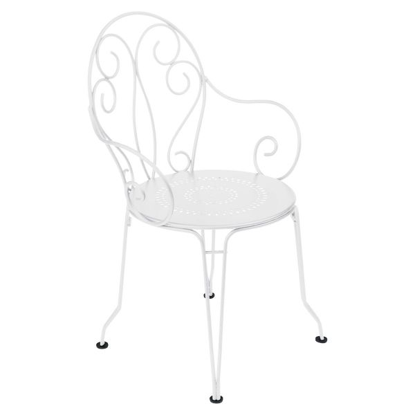 Fermob Montmartre Armchair in Cotton White