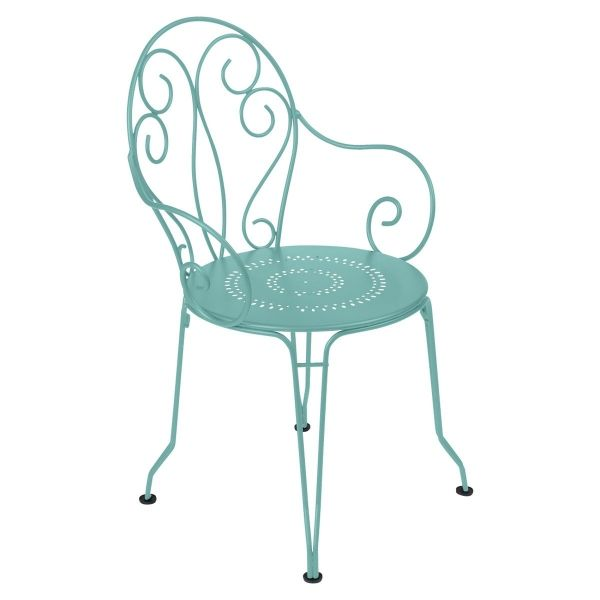 Fermob Montmartre Armchair in Lagoon Blue
