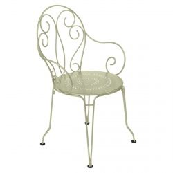 Montmartre Outdoor Armchair in colour Willow Green from Montmartre French Garden Furniture