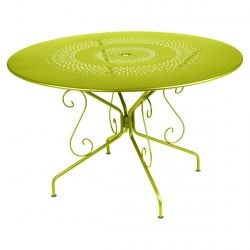 Montmartre Outdoor Table Round 117cm from the Montmartre French Garden Furniture collection