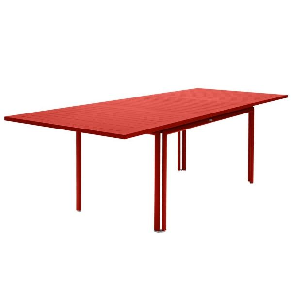Fermob Costa Extending Table 160 to 240cm x 90cm in Capucine