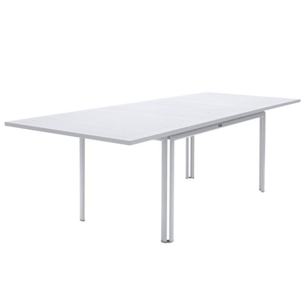 Fermob Costa Extending Table 160 to 240cm x 90cm in Cotton White