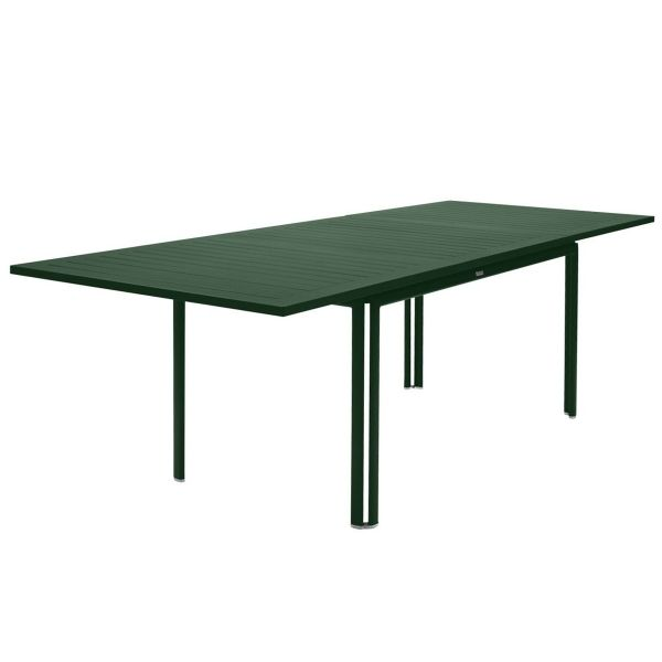 Fermob Costa Extending Table 160 to 240cm x 90cm in Cedar Green