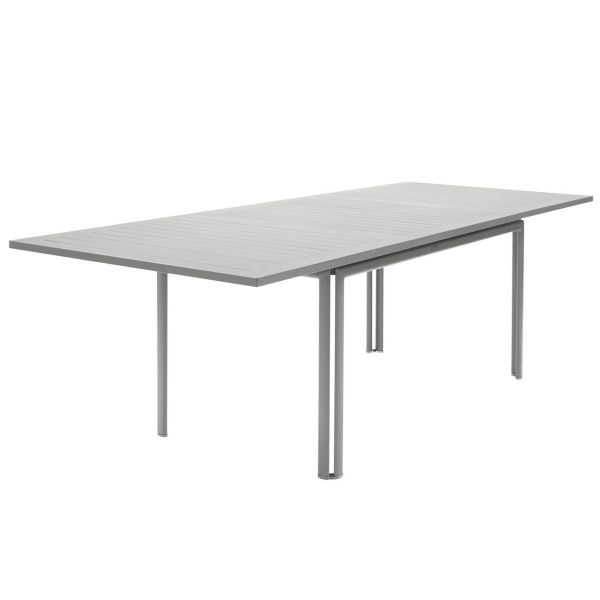 Fermob Costa Extending Table 160 to 240cm x 90cm in Steel Grey