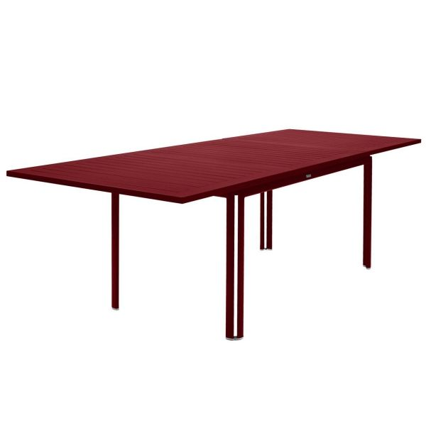 Fermob Costa Extending Table 160 to 240cm x 90cm in Chilli