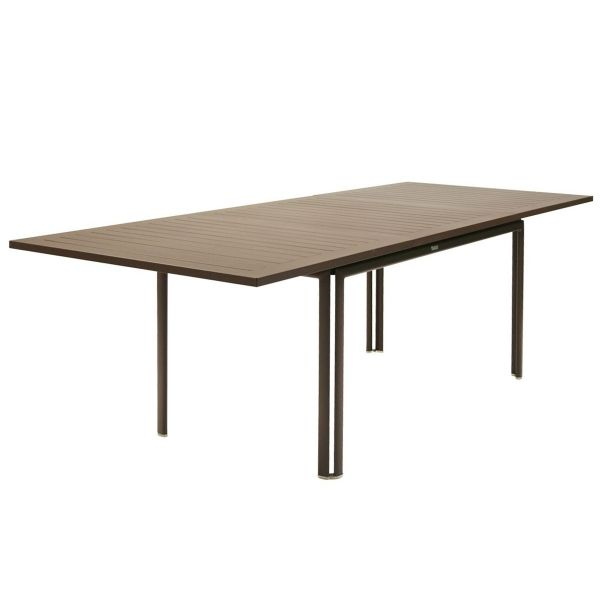 Fermob Costa Extending Table 160 to 240cm x 90cm in Russet