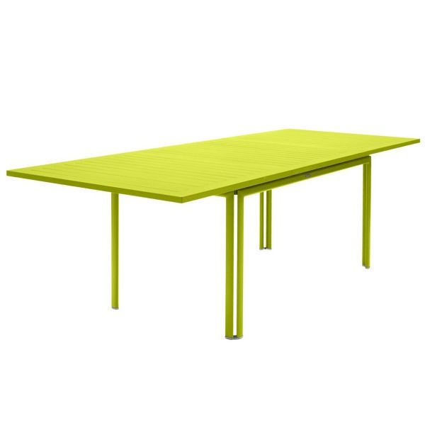 Fermob Costa Extending Table 160 to 240cm x 90cm in Verbena