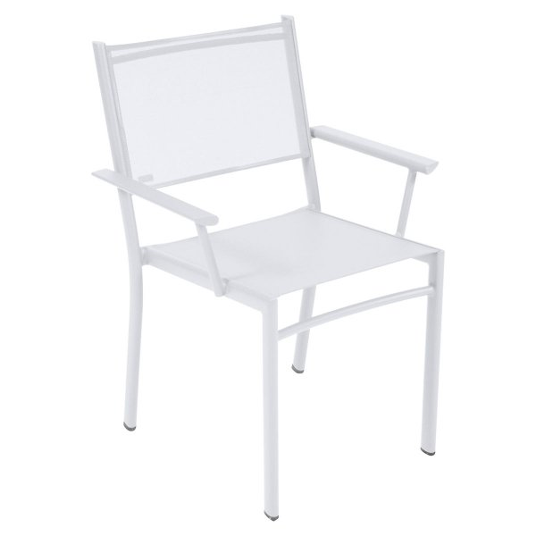 Fermob Costa Armchair in Cotton White