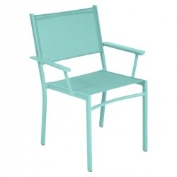 Costa Outdoor Armchair in colour Lagoon Blue from Costa Designer Outdoor Furniture