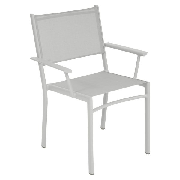Fermob Costa Armchair in Steel Grey