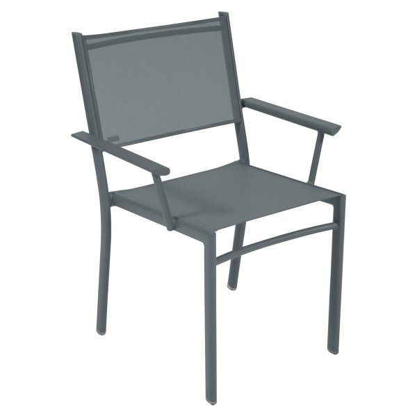 Fermob Costa Armchair in Storm Grey