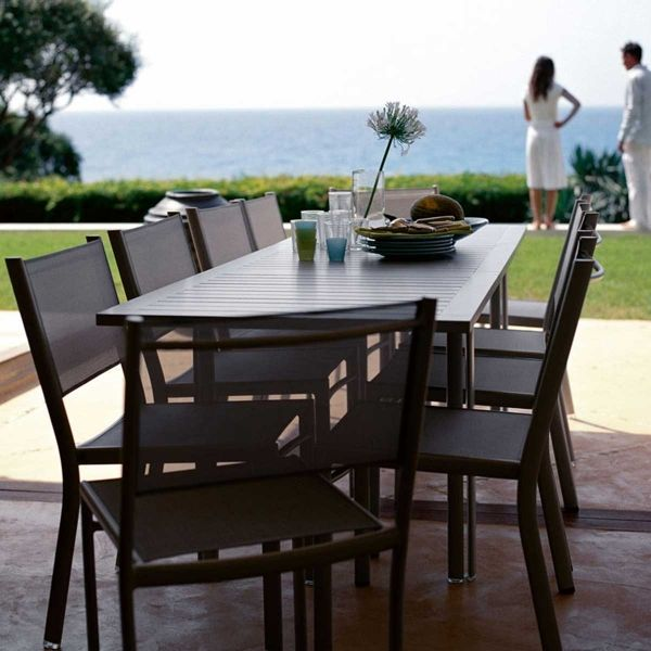 Fermob Costa Extending Table 160 to 240cm x 90cm Ambient