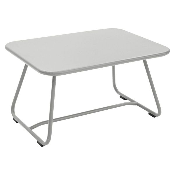 Fermob Sixties Low Table in Steel Grey