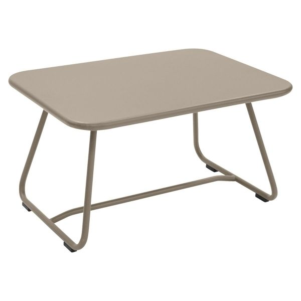 Fermob Sixties Low Table in Nutmeg