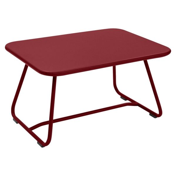 Fermob Sixties Low Table in Chilli