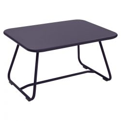 Sixties Outdoor Coffee Table in colour Plum from Sixties Modern Outdoor Furniture