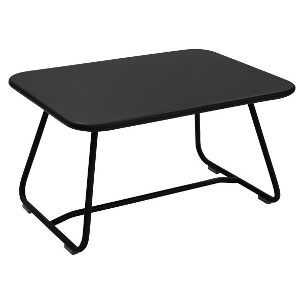 Fermob Sixties Low Table in Liquorice