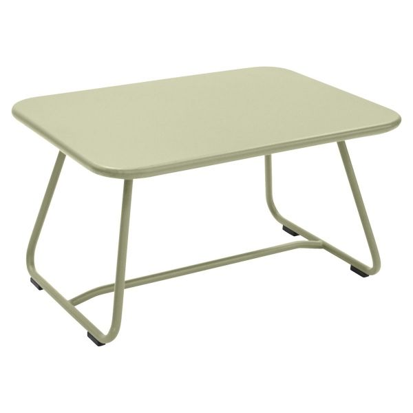 Fermob Sixties Low Table in Willow Green